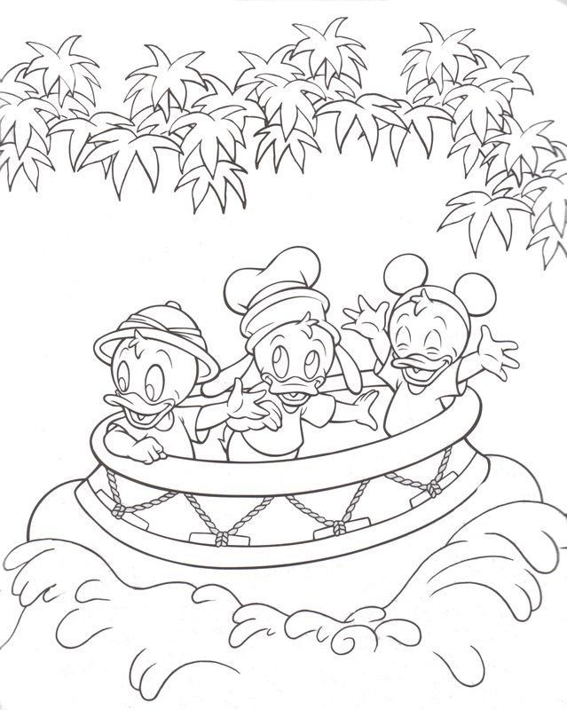 disney themed birthday coloring pages - photo#34