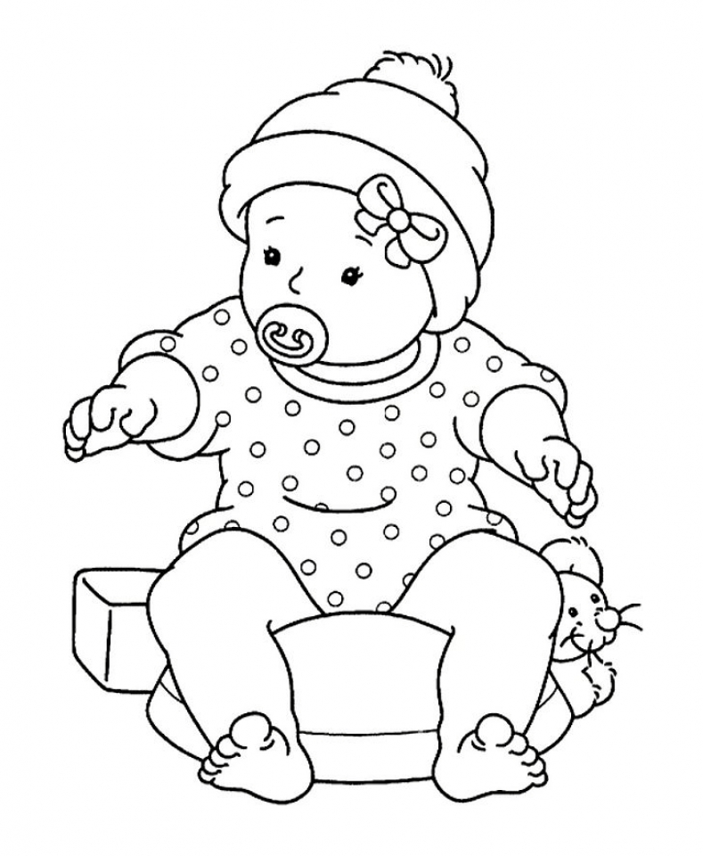 baby cutie coloring pages - photo#40