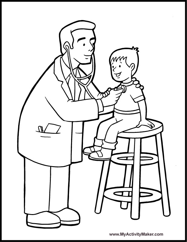 medical coloring pages - photo#13