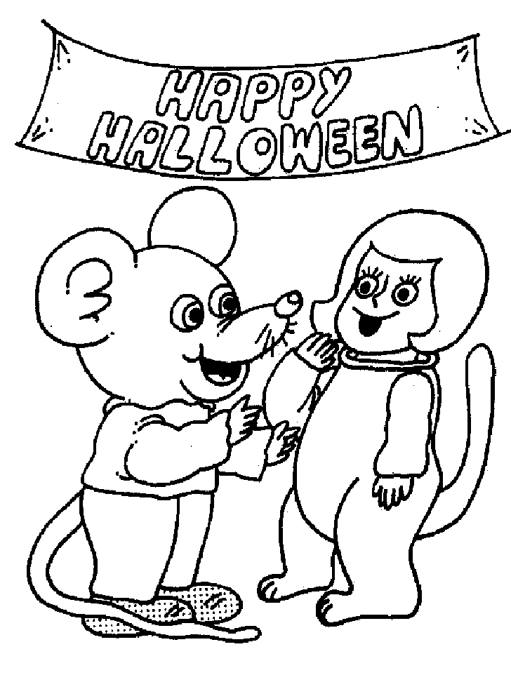 Nick Jr Halloween Coloring Pages