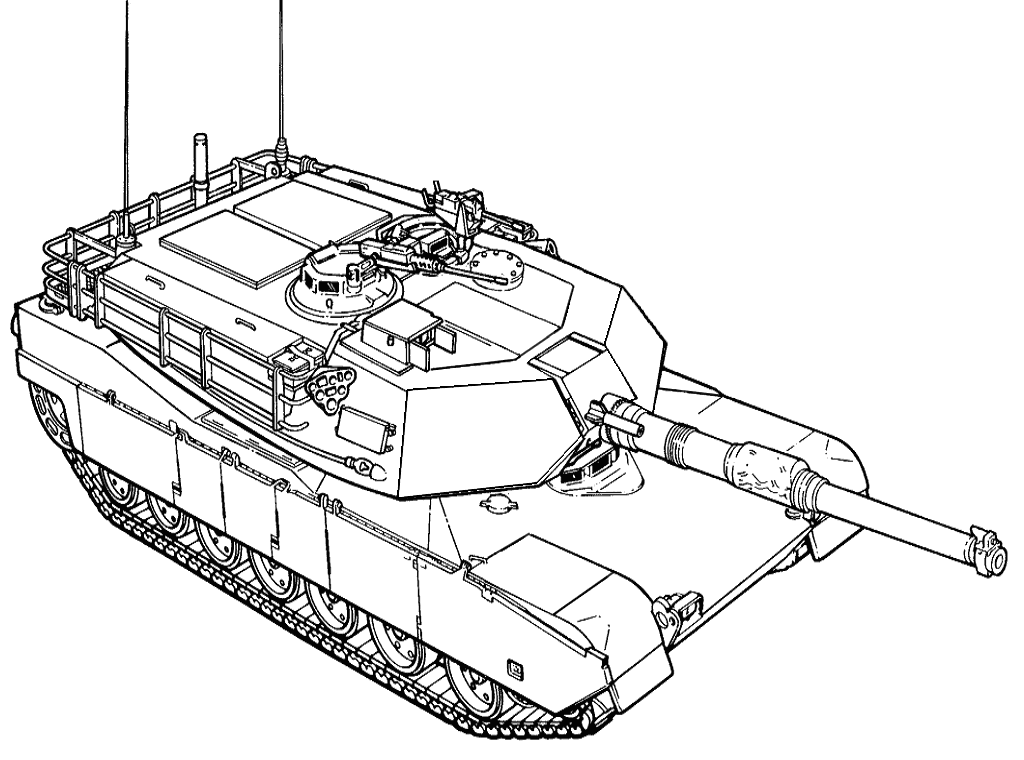 Army Tanks Coloring Pages Coloring Home Tank Colouring Pages
