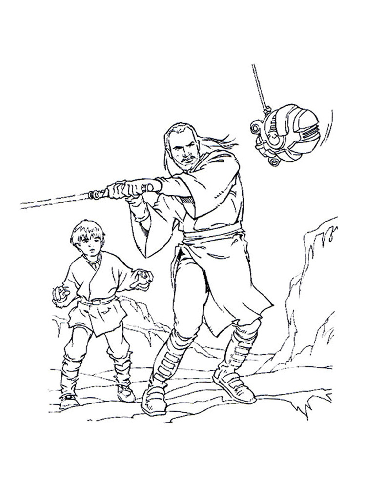 lego anakin skywalker coloring pages - photo#18
