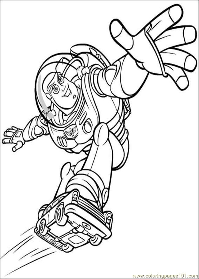 Coloring Pages Toy Story Coloring Pages 004 (Entertainment > Toys