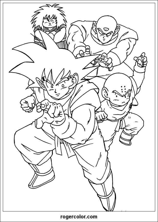 A To Z Coloring Pages Pdf : Dragon ball z coloring pages home