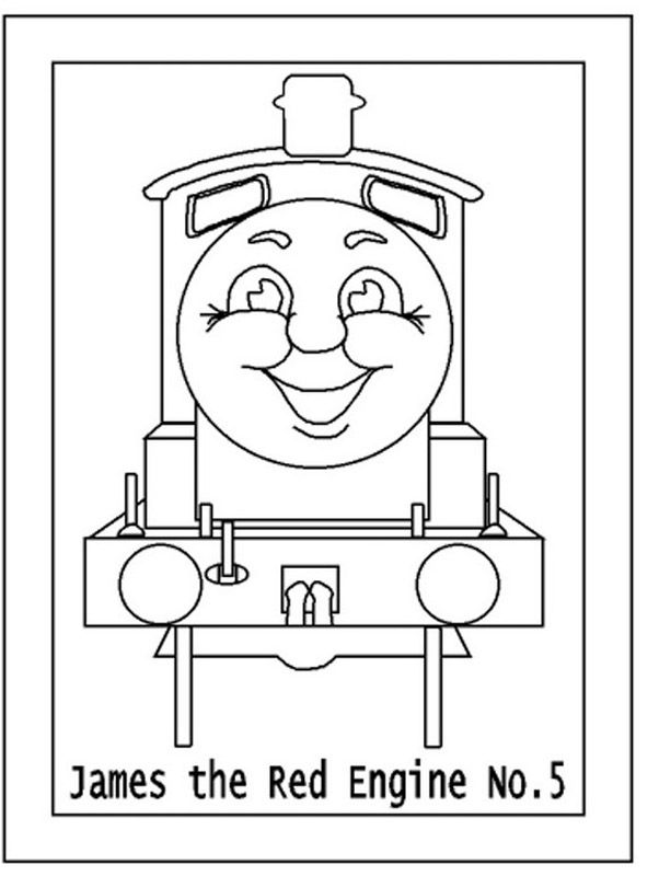 thomas the train characters coloring pages - thomas the train easy coloring pages