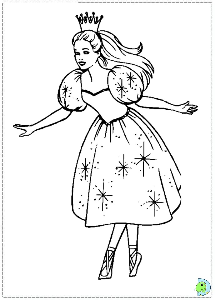 Nutcracker ballet coloring page az coloring pages for Nutcracker ballet coloring pages