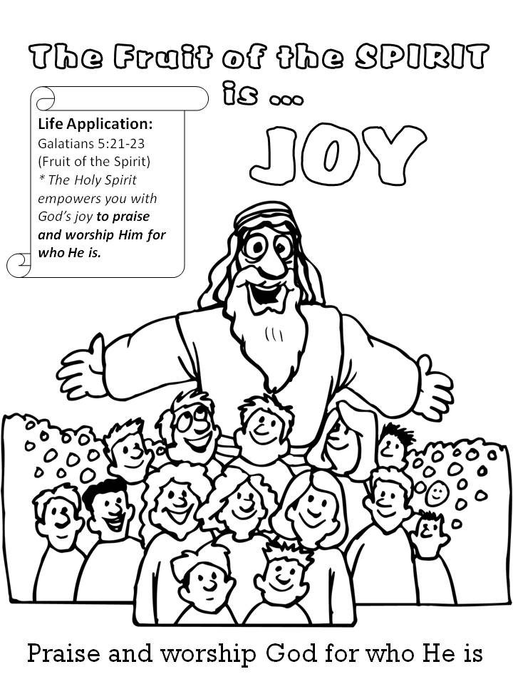 joy coloring pages for kids - photo#15