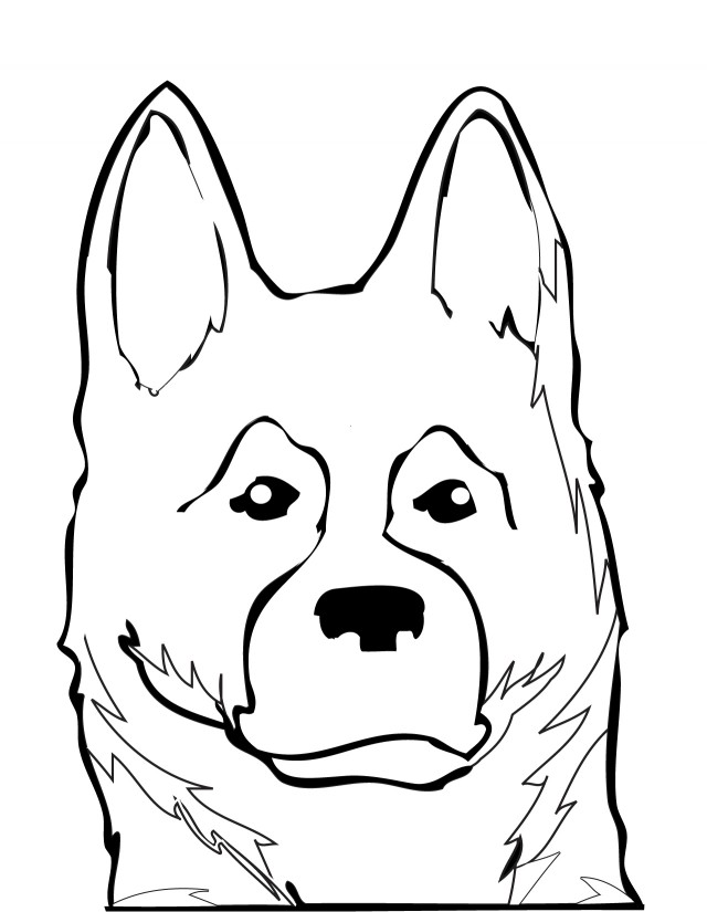Dog breeds coloring pages az coloring pages for German shepherd coloring pages printable