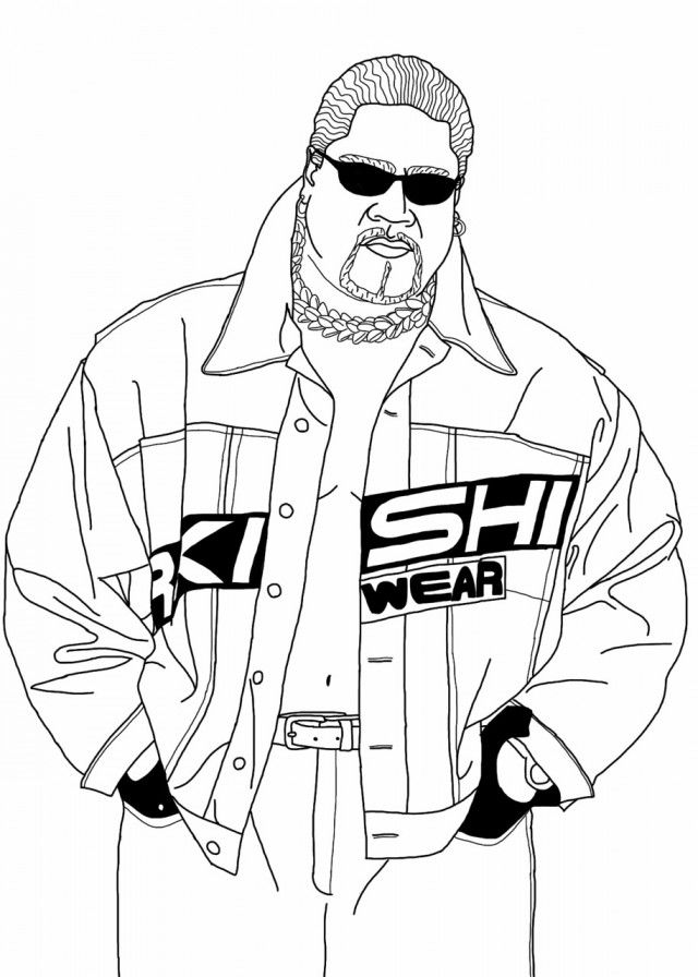 Sting Wrestler Colouring Pages 238134 Wrestling Coloring Pages Wwe
