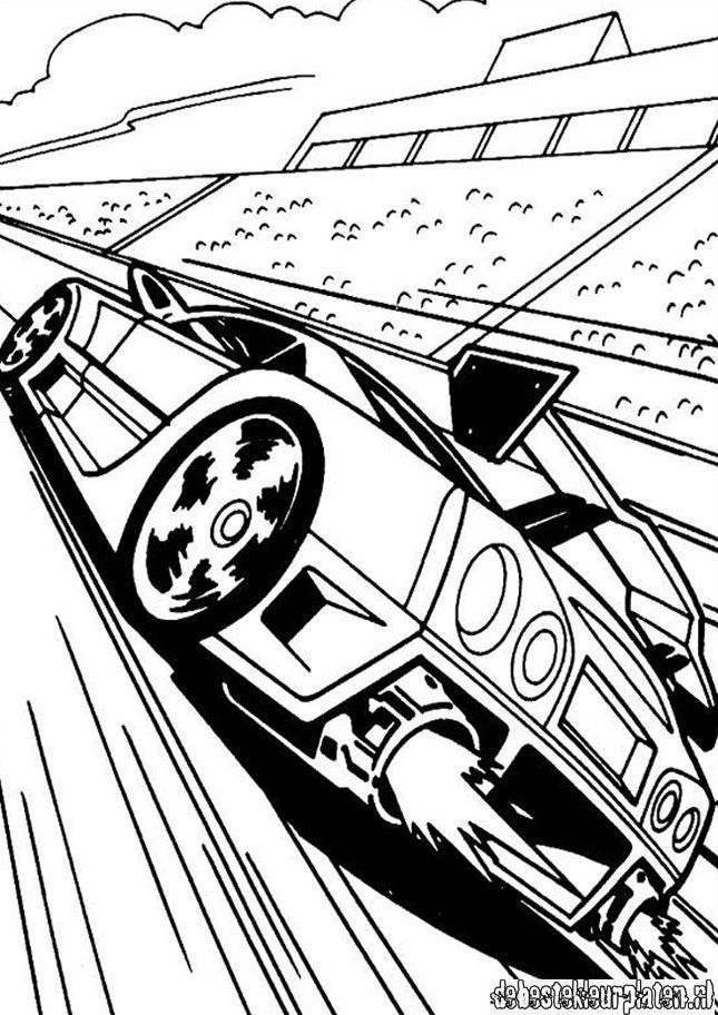 Hotwheels25 - Printable coloring pages