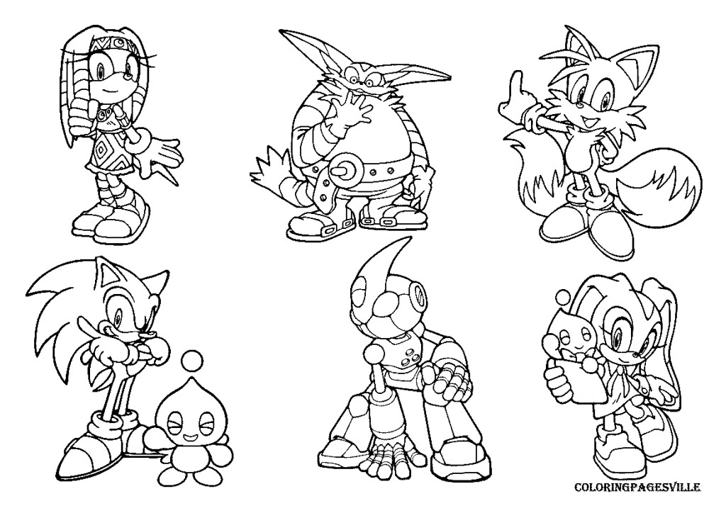 Sonic Underground Coloring Pages Az Coloring Pages Sonic Underground Coloring Pages