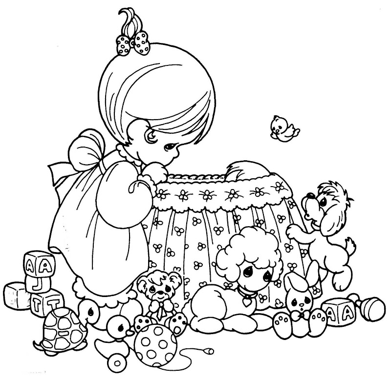 precious moments nativity coloring pages - precious moments nativity coloring pages az coloring pages