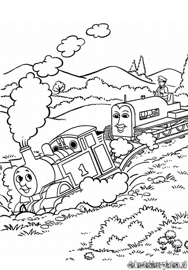 Thomas and Friends coloring pages - Printable coloring pages