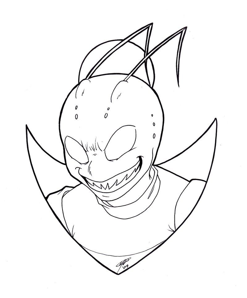 Invader zim coloring page az coloring pages for Invader zim coloring pages online