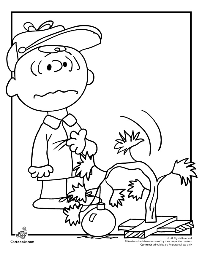 Charlie Brown Jr Colouring Pages