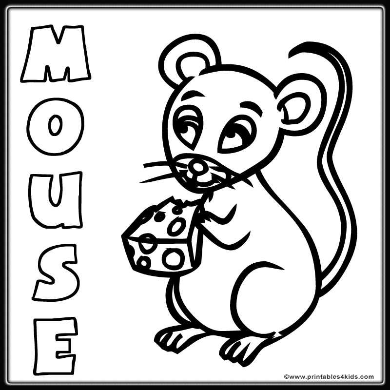 coloring pages of mouse - photo#31