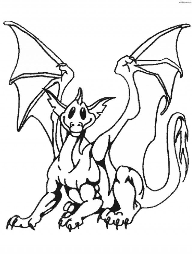 Japanese Dragon Coloring Pages Dragons Id 104870