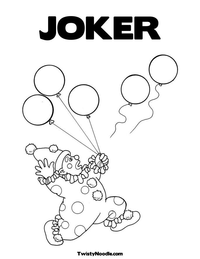 Batman Coloring Pages Joker Photograph