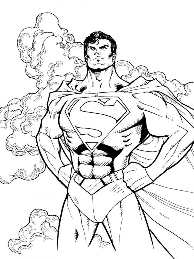 Superman Sighn Colouring Pages Superman Symbol Coloring Pages