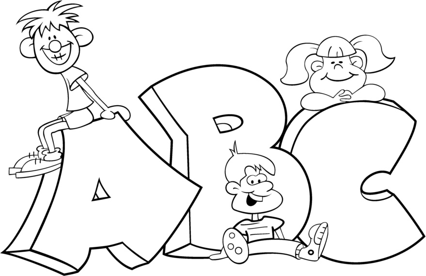 Where To By Abc Coloring Pages