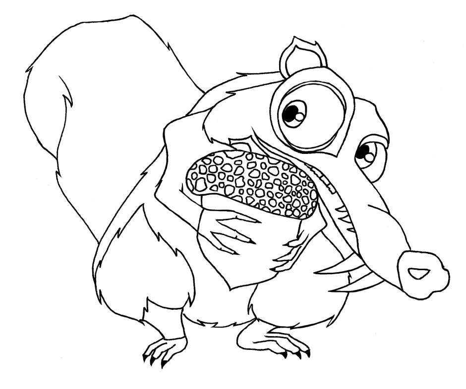 Ice Age Coloring Pages Az Coloring Pages Age Colouring Pages
