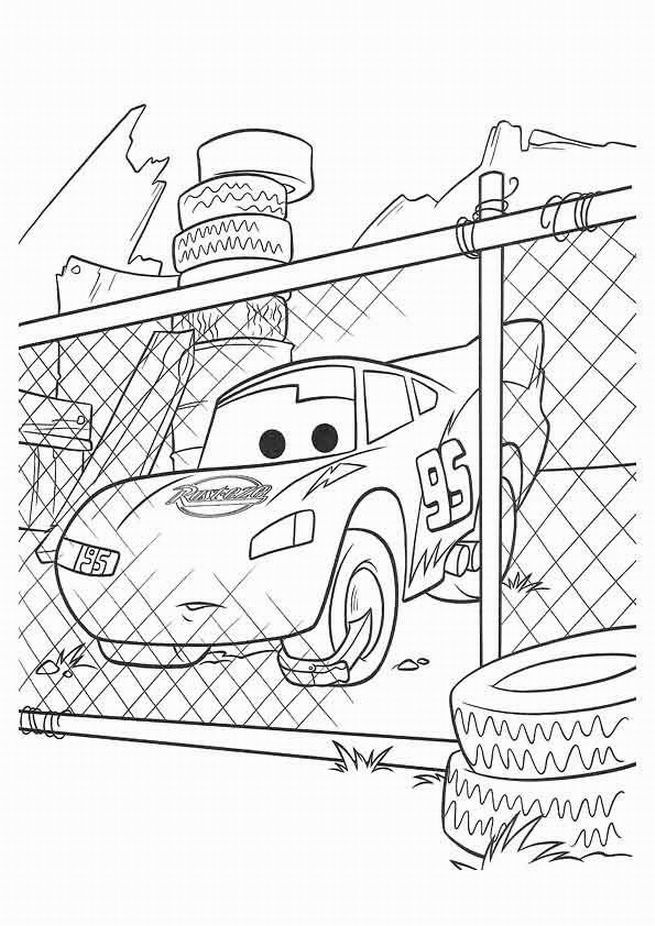 Coloring Pages Lightning Mcqueen