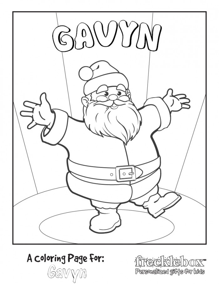 personalized coloring pages - photo#32