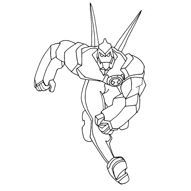 Ben 10 Alien Force Coloring Pages To Print