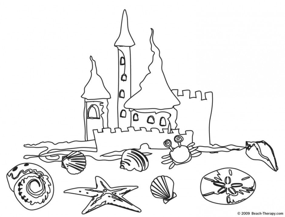 beaches coloring pages - photo#16