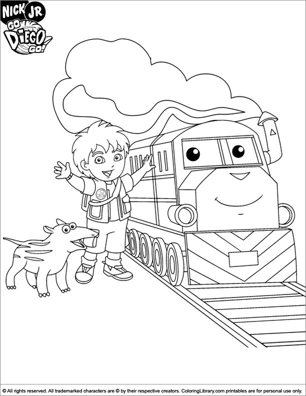 queer coloring pages - go diego go coloring pages to print car interior design