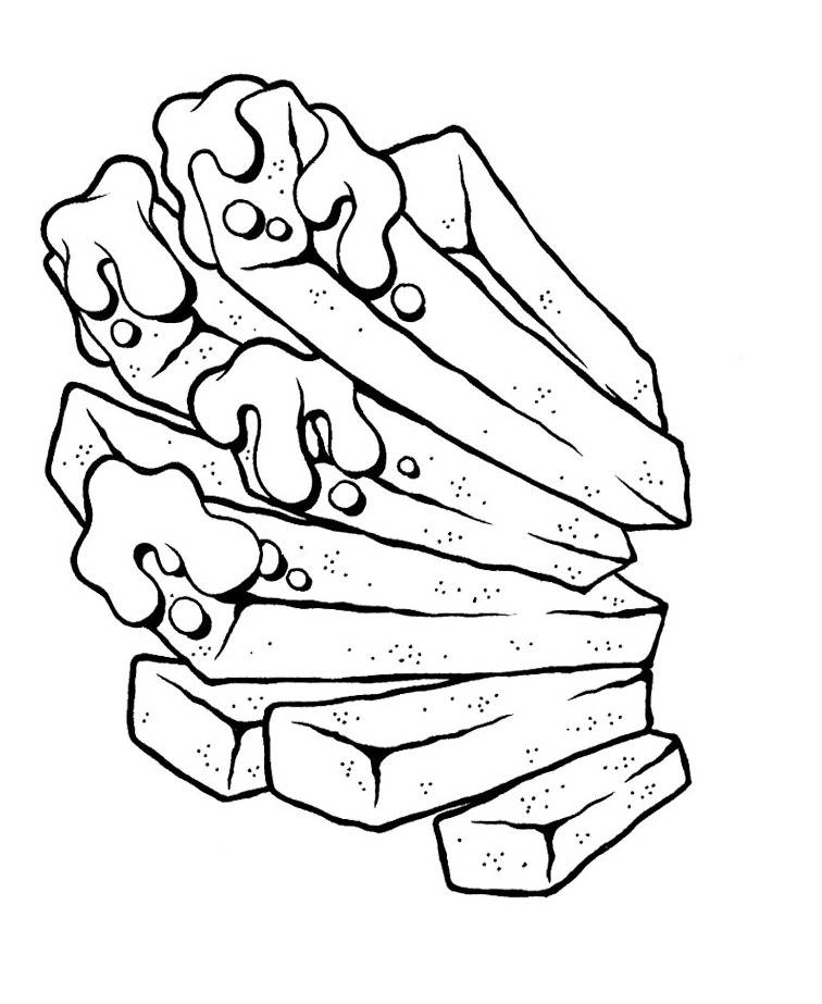hotdog coloring pages - photo#23