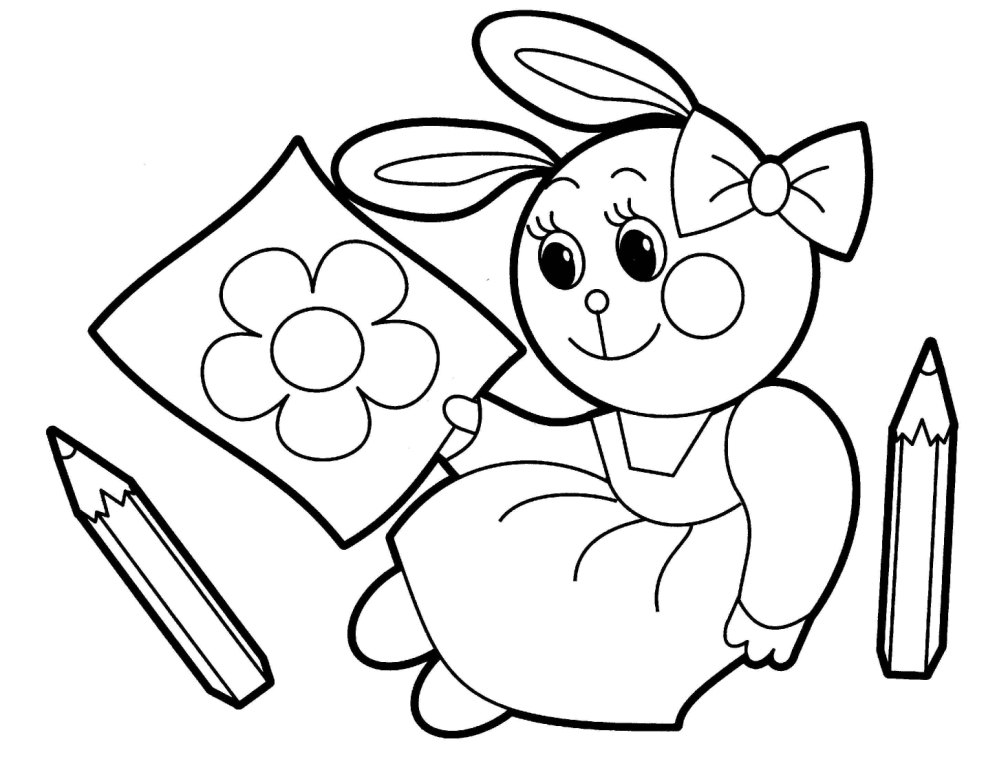 Ausmalbilder Zootiere: Funny Cartoon Coloring Pages