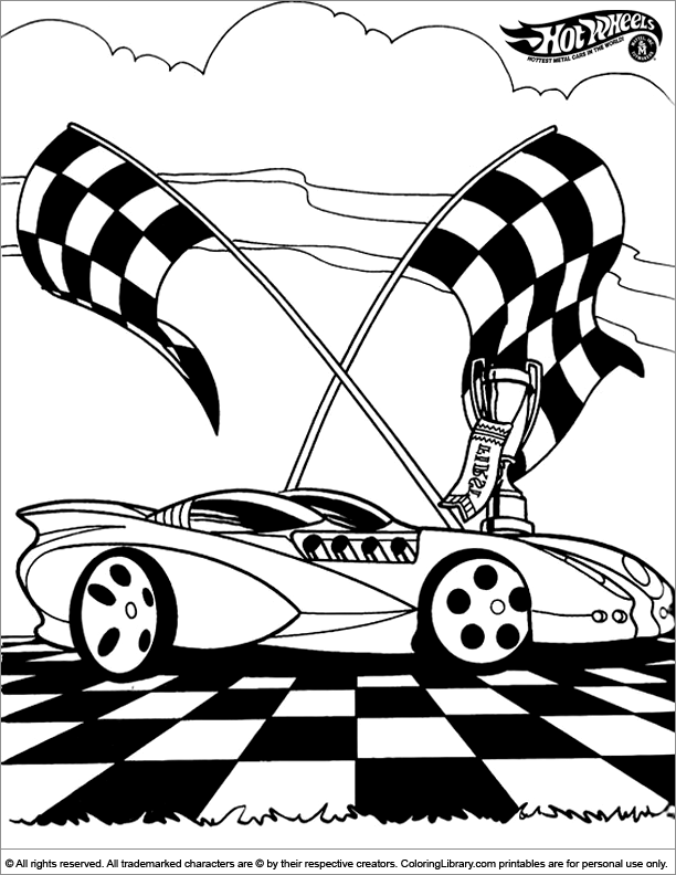 matchbox cars coloring pages - photo#35