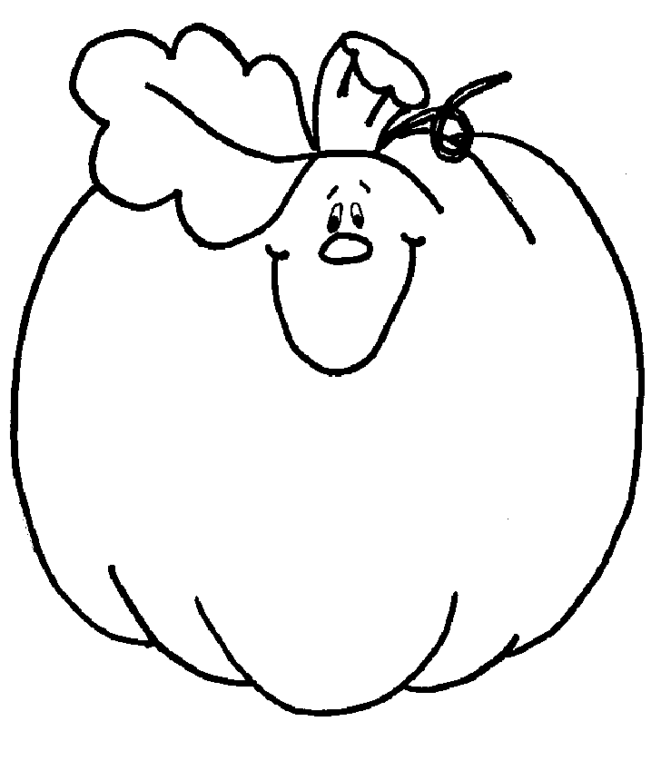 Blank Pumpkin Coloring Pages Coloring Home Free Printable Pumpkin Coloring Pages