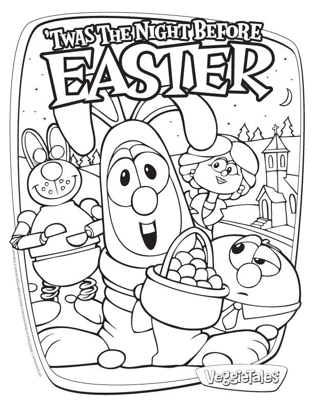 veggie tales coloring pages esther - photo#29