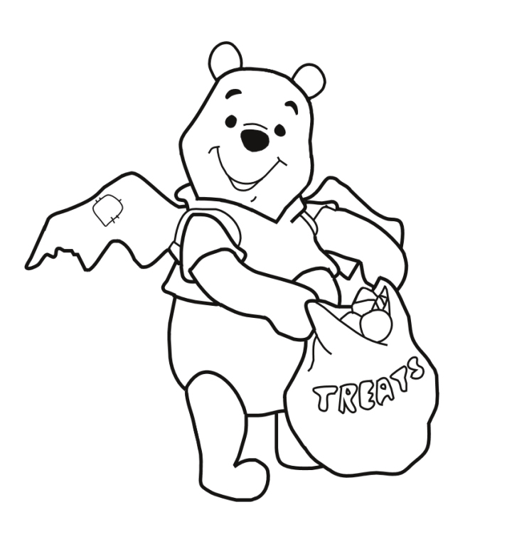 coloring book pages poohbear - photo#15