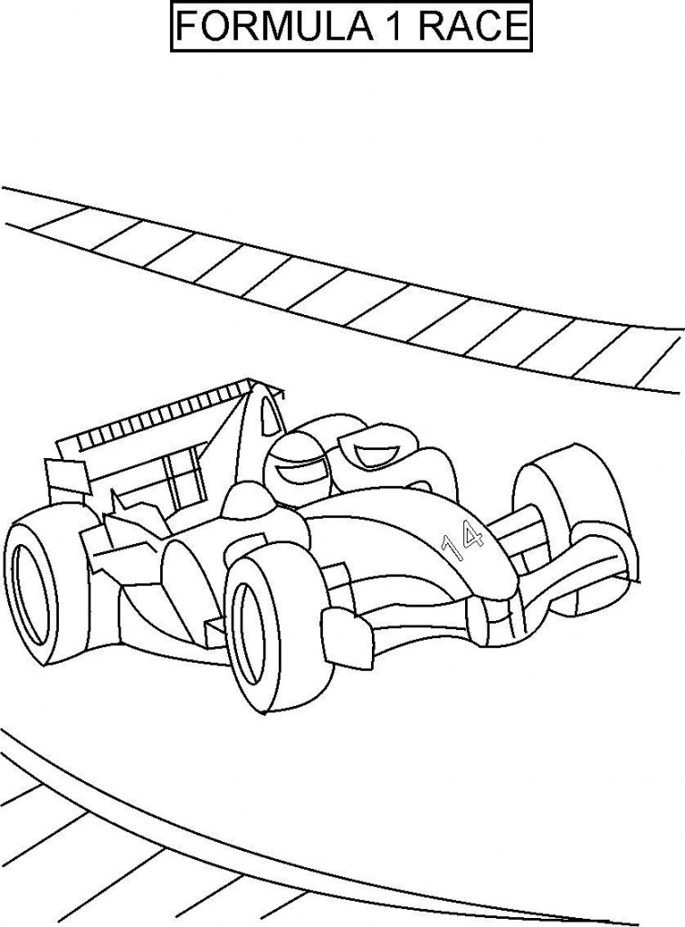 Racing car printable coloring pages coloring pages for kids for Racing coloring pages
