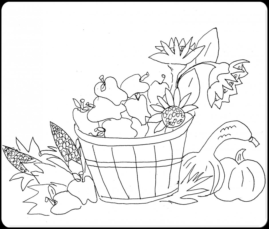 fall christian coloring pages - photo#12