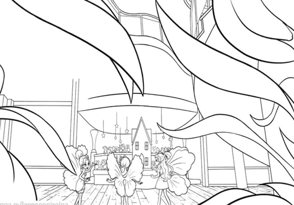 thumbelina 1994 coloring pages - photo#39