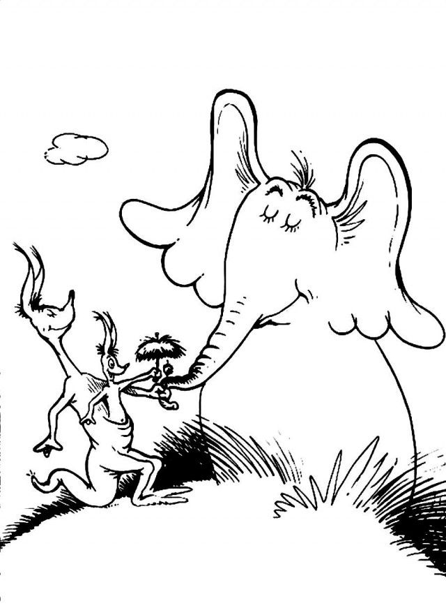 horton hears a who coloring page coloring home