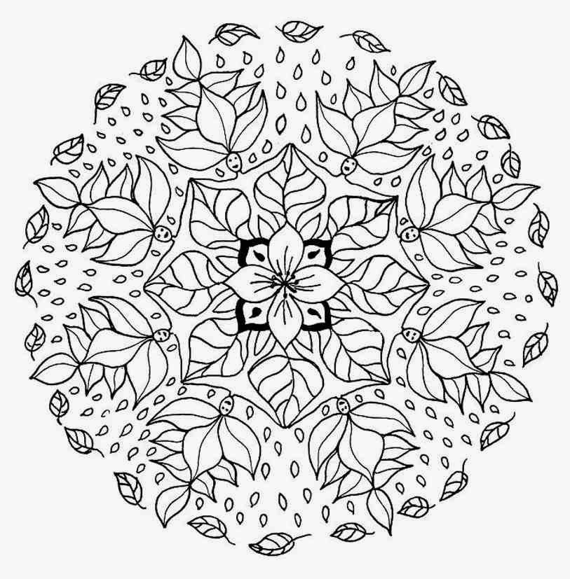 Mandala Color Pages