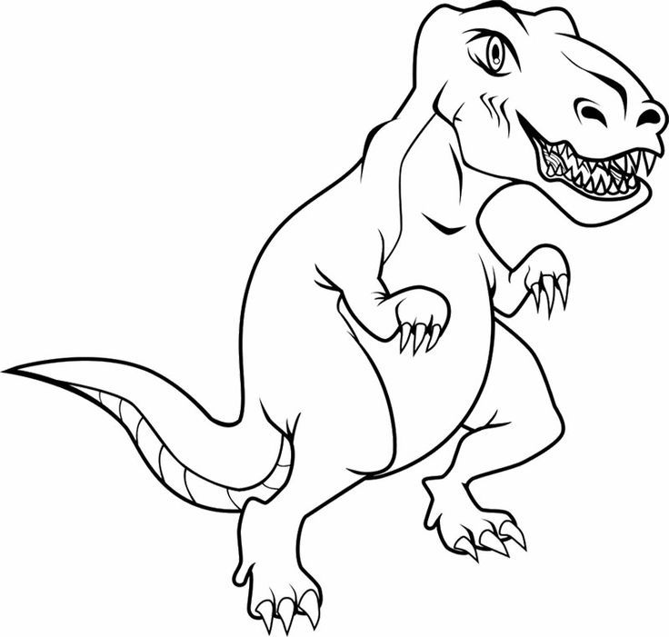 deinonychus coloring pages - photo#31