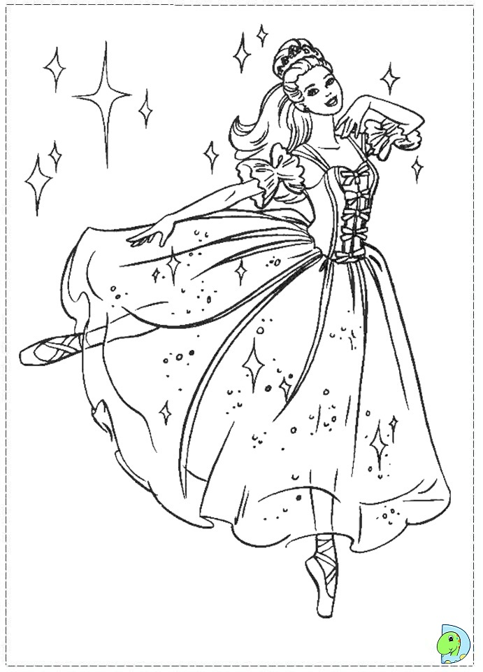 the nutcracker coloring pages - photo#7