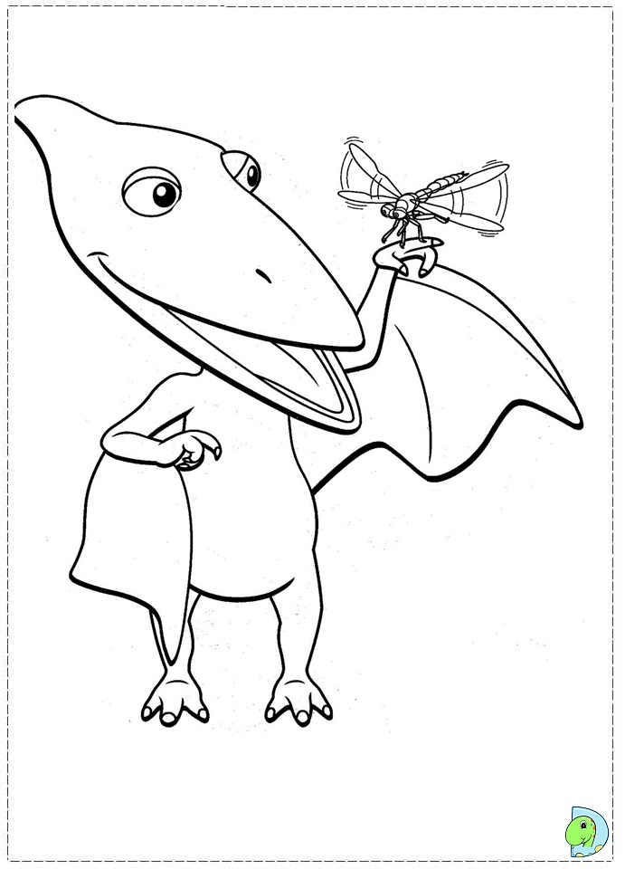 dinosaur train coloring pages dongs - photo#22