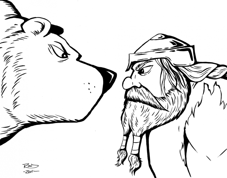 chicago cubs mascot coloring pages - photo#28