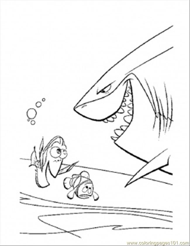 Coloring Pages Meet The Shark (Fish > Shark) - free printable