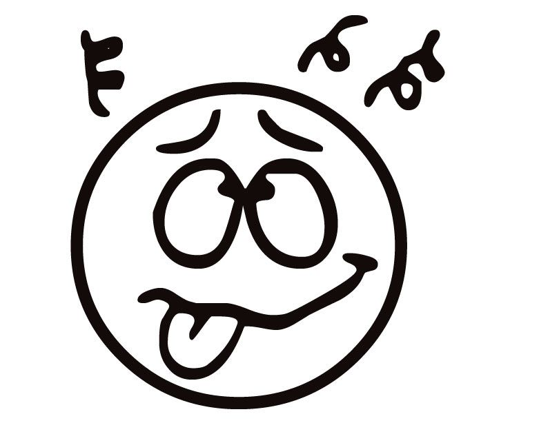 Funny Faces Coloring Pages - Coloring Home