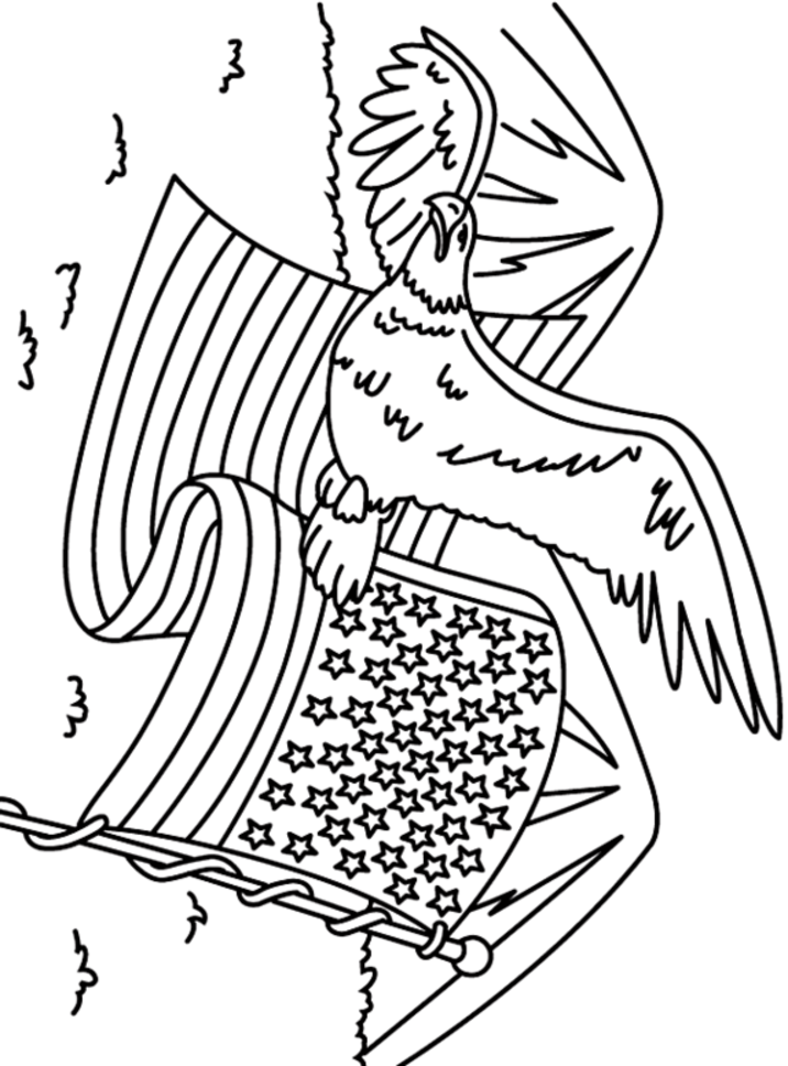 Memorial Day Coloring Page Coloring Home