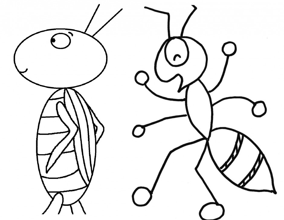 Forged Parts Black And White : Insect pictures for kids az coloring pages