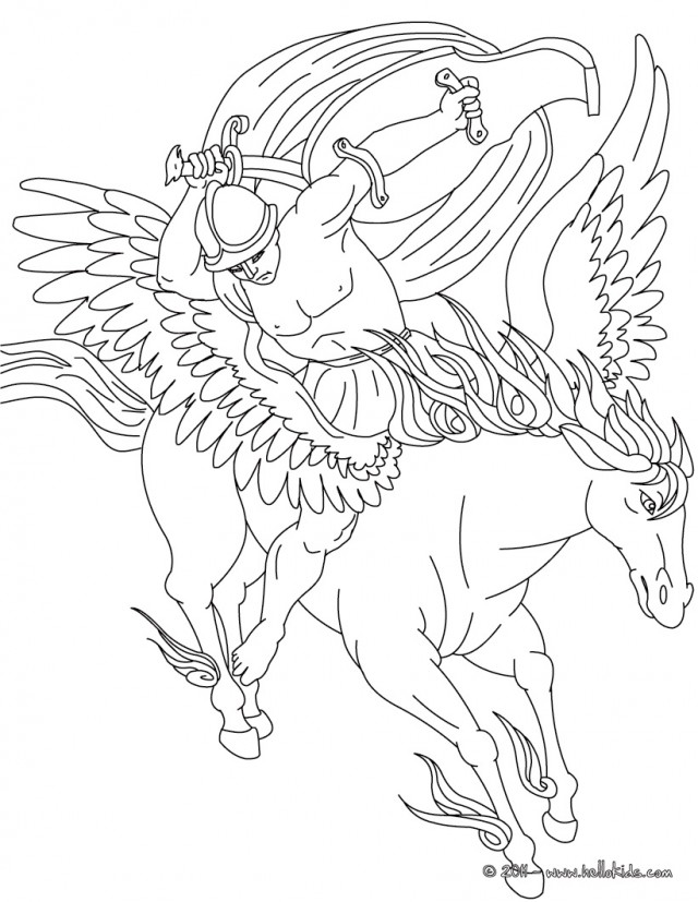 Greek mythology coloring pages az coloring pages for Coloring pages of greek gods